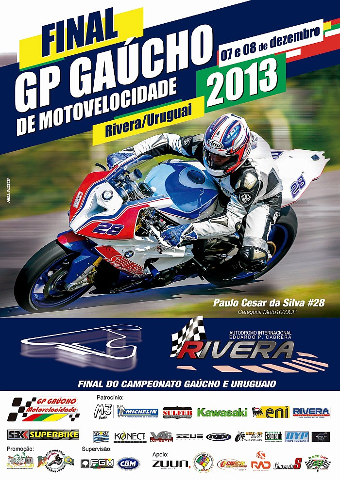 Cartaz GP Gaucho 5etapap